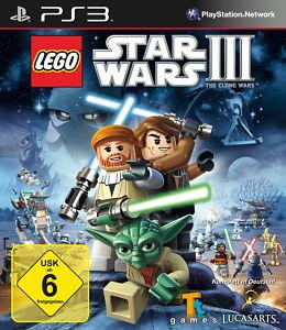PS3-Playstation-3-Lego-Star-Wars-3-The-Clone-Wars-Essentials-Spiel-in-OVP
