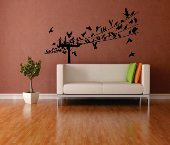 Birds are the ultimate symbol of beauty and freedom and they are a popular  option for girls looking to add something feminine to their room décor.