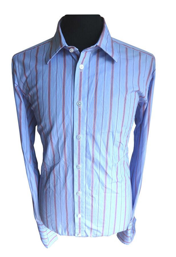 Turnbull and Asser Double-Cuff Cotton Dress Shirt