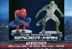 The Amazing Spider-Man (Blu-ray/DVD, 2012, 4-Disc Set, With Figurine; UltraViolet; 2D/3D)