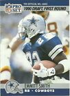Rookie Emmitt Smith Football Trading Cards