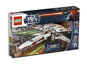 LEGO X-Wing Starfighter RETIROT 9493 Jek Porkins R2-D2 R5-D8 Luke Skywalker