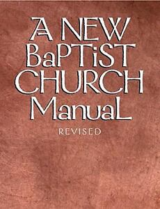 A-New-Baptist-Church-Manual-1940-Hardcover-Revised