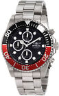 Invicta Stainless Steel Band Casual Watches with Chronograph