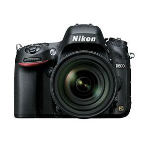Nikon D600 24.3 MP Digital SLR Camera - ...