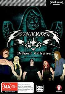 Metalocalypse Dethpack Collection: Season 1 - 3 (6 Discs) NEW R4 DVD
