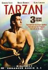 Tarzan Triple Feature - Tarzan and the Trappers/Tarzan and the Green Goddess/Tarzan of the Apes (DVD, 2003)