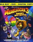 Madagascar 3: Europe's Most Wanted (Blu-ray Disc, 2013, 2-Disc Set, Includes Digital Copy; UltraViolet)