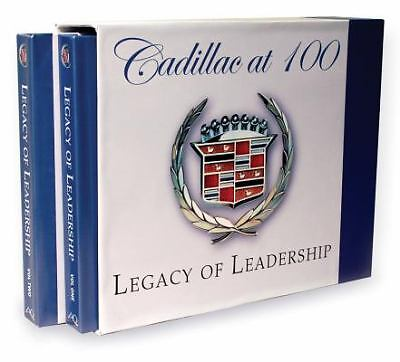 cadillac at 100 vols 1 2 legacy of leadership by maurice d hendry and jeff