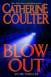 CATHERINE-COULTER-Blowout-An-FBI-Thriller-by-2004-Hardcover-Ex-Library-Book