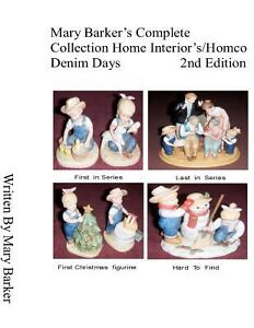 Mary barker 39 s complete collection home interior 39 s homco Home interiors denim das