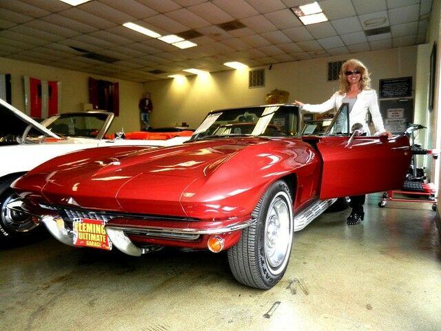 listing expired 1967 burgundy corvette stingray for sale. Black Bedroom Furniture Sets. Home Design Ideas
