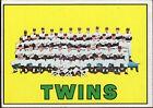 Topps Minnesota Twins Team Set Baseball Cards