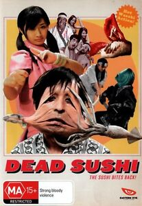 Dead Sushi NEW R4 DVD