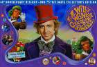 Willy Wonka and the Chocolate Factory (Blu-ray Disc, 2011, 3-Disc Set, 40th Anniversay; Ultimate Collector's Edition; With Bo)