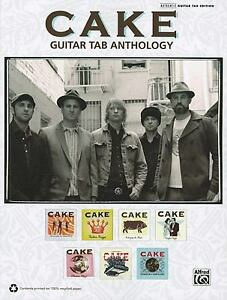 Cake guitar tab anthology guitar tab by alfred publishing staff