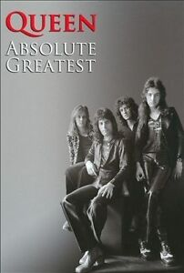 QUEEN-Absolute-Greatest-UK-2CD-book-SEALED-NEW