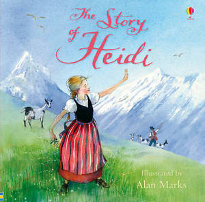 The-Story-of-Heidi-Usborne-Picture-Book-Brand-New-Paperback-R-R-P-4-99