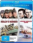KELLYS-HEROES-WHERE-EAGLES-DARE-Blu-Ray-Region-B-NEW