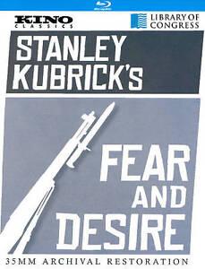 Fear and Desire (Blu-ray, 2012) Brand new! U.S. Vers. Free 1st class shipping. - Deutschland - Fear and Desire (Blu-ray, 2012) Brand new! U.S. Vers. Free 1st class shipping. - Deutschland