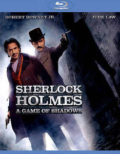 NEW Sherlock Holmes A Game of Shadows (Blu-ray + DVD) w/Slipcover FACTORY SEALED