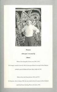 Lebrero-Picasso As Seen By Otero  BOOK NEW