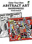 Colour-Your-Own-Abstract-Art-by-Muncie-Hendler-Paperback-1999