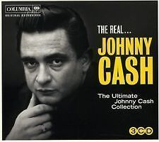 Johnny Cash  Real The Ultimate Collection 3CD 2011 - <span itemprop='availableAtOrFrom'>Grimsby, United Kingdom</span> - Johnny Cash  Real The Ultimate Collection 3CD 2011 - Grimsby, United Kingdom