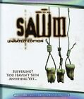 Saw III (Blu-ray Disc, 2007, Blu-Ray Widescreen) (Blu-ray Disc, 2007)