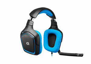 8ae7855fded Logitech G430 Black/Blue Headband Headsets for PC for sale online | eBay
