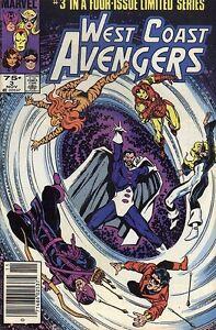 West Coast Avengers #3 (Nov 1984, Marvel...