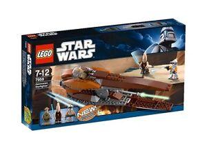 LEGO Star (7959) Wars Geonosian Starfighter (7959) Star brand new very rare 2009 3d048d