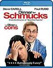 Dinner for Schmucks (Blu-ray Disc, 2011, Canadian)
