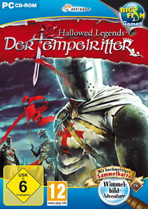 HALLOWED LEGENDS * DER TEMPELRITTER *  WIMMELBILD-SPIEL  PC CD-ROM