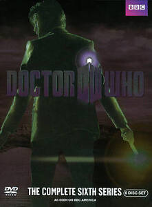 Doctor Who: The Complete Sixth Series Season 6 (DVD, 2011, 6-Disc Set)