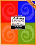 Marketing Research Essentials with SPSS, McDaniel, Carl and Gates, Roger, 0470002409