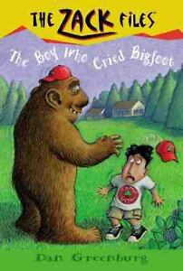 Zack-Files-19-The-Boy-Who-Cried-Bigfoot-Dan-Greenburg-Jack-E-Davis-Good-Con