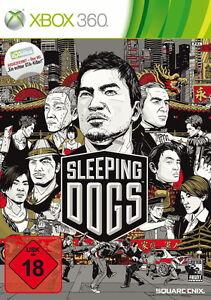 Sleeping Dogs (Microsoft Xbox 360, 2012, DVD-Box) Uncut neu