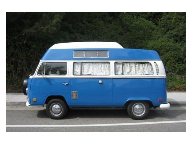 71 VW Rare Camper Van Extended Top Luggage Rack