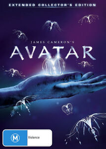 Avatar-Extended-Collector-039-s-Edition-DVD-2010-NEW-R4-3-Disc-Set
