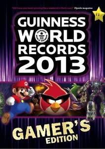Guinness World Records 2013 Gamer's Edition, , New Book