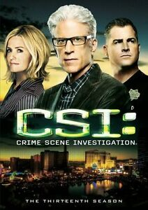 CSI-Crime-Scene-Investigation-The-Thirteenth-Season-13-DVD-2013-6-Disc-Set
