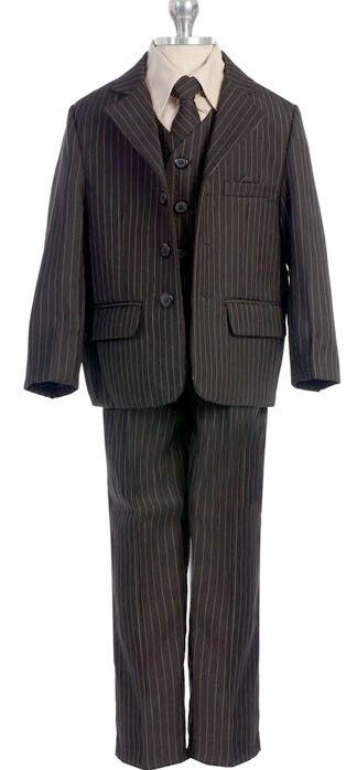 Suits with Patterned Fabrics