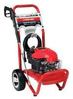 Troy Bilt Pressure Washer 2550 PSIG