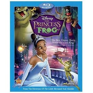 Disney The Princess and the Frog Blu-ray Disc   New in Package (NIP)