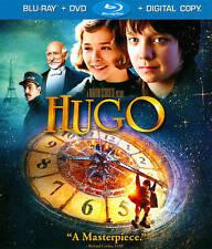 Hugo (Two-disc Blu-ray/DVD Combo + Digital Copy) Chloë Grace Moretz, Jude Law,