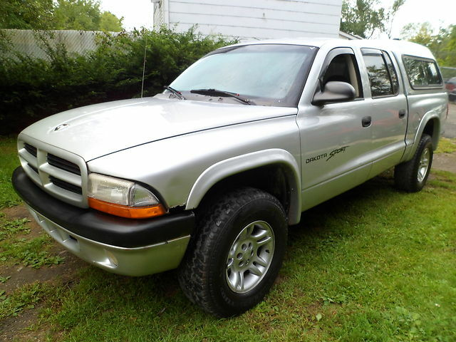 2001 dodge dakota 4 door ebay. Black Bedroom Furniture Sets. Home Design Ideas