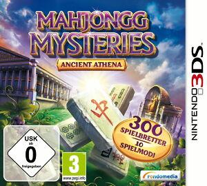 Mahjongg Mysteries - Ancient Athena 3D - Nintendo 3DS - deutsch - Neu / OVP