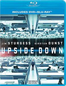 UPSIDE-DOWN-3D-BLU-RAY-DVD-NEW-SEALED-JIM-STURGESS-KIRSTEN-DUNST