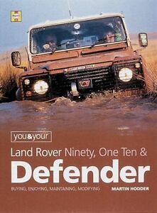 You-and-Your-Land-Rover-by-Martin-Hodder-2001-Hardcover